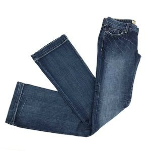 Buckle BKE Sabrina Wide Leg Flare Jeans Sz 26x35